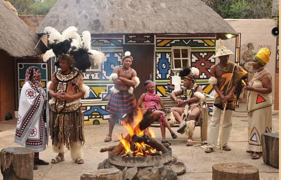 Cradle of Human Kind With Lesedi Cultural Village Tour
